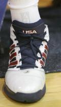 图文-美国男篮赌城集训第四日 魔兽的奥运会战靴