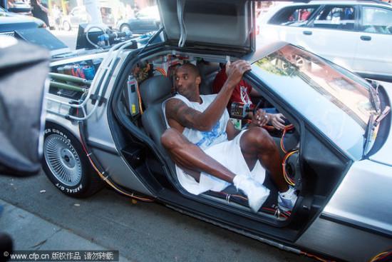 球星_图文NBA球星豪华座驾大比拼科比和他的豪华