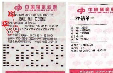 网传男子中千万巨奖被注销 重庆福彩:谣言!