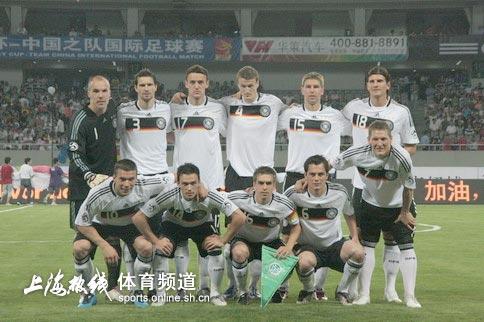 德国队首发:4231阵型拉姆领衔防线 戈麦斯前锋