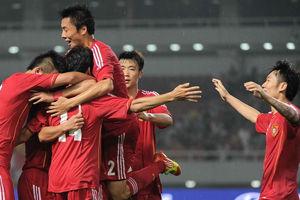 热身赛-小将扫射一球致胜U22国足1-0胜马来西亚