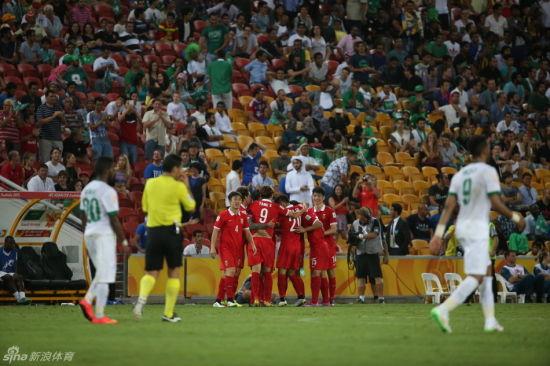 中国队获得来之不易的胜利