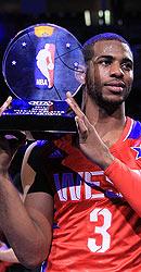 保罗生涯首座MVP奖杯
