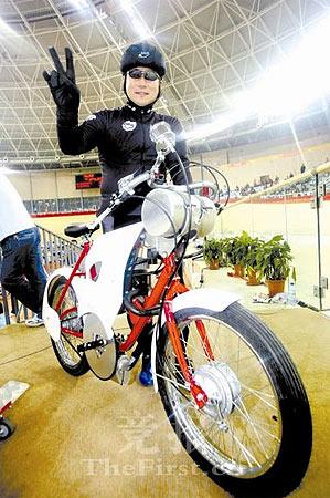 场地自行车世界杯昨落幕凯林车骑手国内第一人亮相
