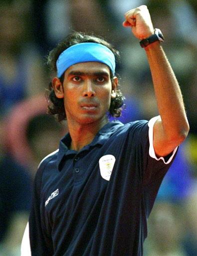 资料图片-奥运乒乓球亚洲区选手巡礼印度阿昌塔