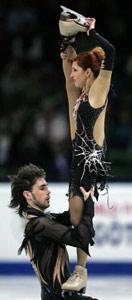 世锦赛法组合冰舞首次折桂贝尔宾无缘奖牌中国第22