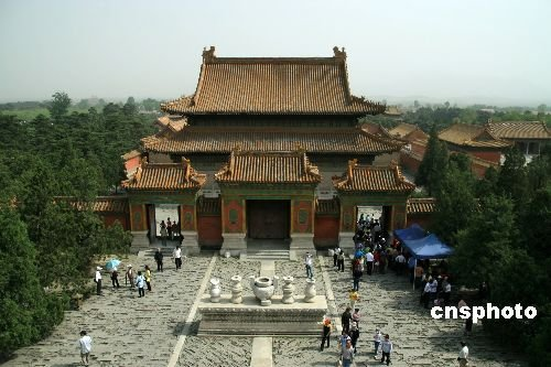 中国现存规模最大古帝陵建筑 清东陵恢宏壮观精美