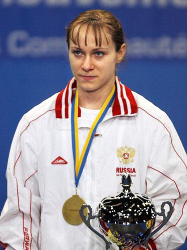 资料图-奥运举重女子58公斤级名将俄罗斯沙里诺娃