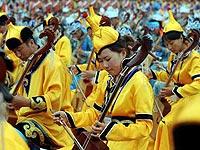 奥运圣火松原传递2008马头琴齐奏成最大亮点