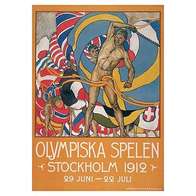 夏奥会回顾之1912年斯德哥尔摩:电动计时器首亮相