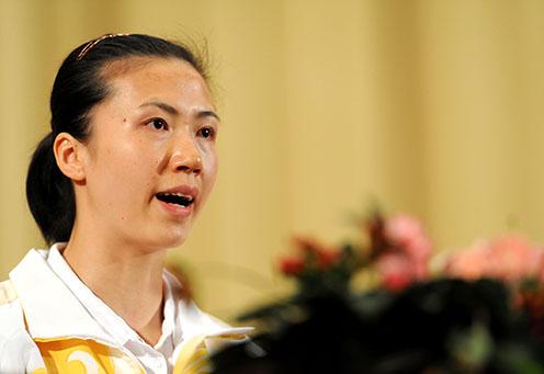 周苏红:奥运会曾哭过两次女排有勇气就会有奇迹