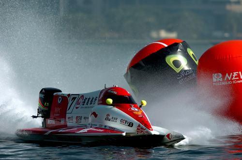 "F1摩托艇""弯道论""有关浮标的规则的通过方式"