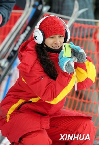 雪上公主李妮娜谈白马王子 直言最爱韩国帅哥(图)