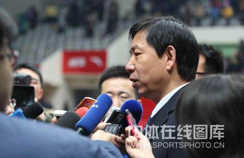 王宝泉:天津主要输在接发球环节队员们已经尽力