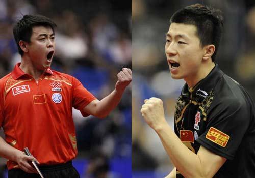 刘国梁:马龙王皓都是绝对重点谁进决赛都将获质变