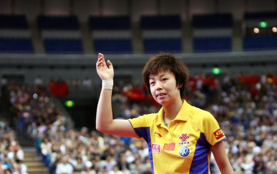 六战世乒赛张怡宁留多少辉煌铜牌竟是她最差战绩