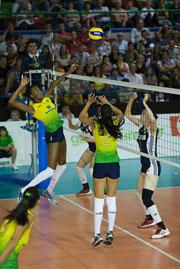 瑞士精英赛中国女排0比3完负巴西蔡家军首尝败绩