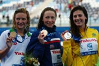 世锦赛游泳次日综述:四国分金五项世界纪录作古