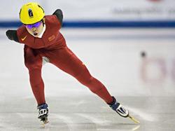 短道速滑加拿大站王�饔芯�无险夺冠哈梅林揽双冠
