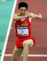 室内世锦赛李延熙大失水准0.01米之差无缘决赛