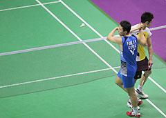 世锦赛-林丹0-2遭朴成奂横扫无缘4强四连冠梦碎
