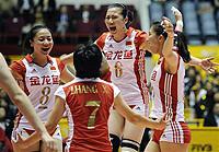 世锦赛-中国女排3-1破日本不败金身赢复赛开门红