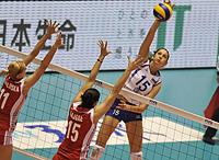 女排世锦赛复赛E组:俄罗斯保持不败日本力克土耳其