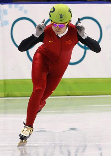 体坛风云人物年度最佳女运动员奖候选人:王蒙