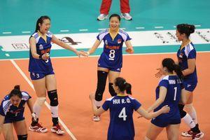 精英赛-王一梅首发两局25比11中国女排3-0古巴