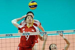 总统杯-中国女排3-1力克俄罗斯半决赛将战波兰