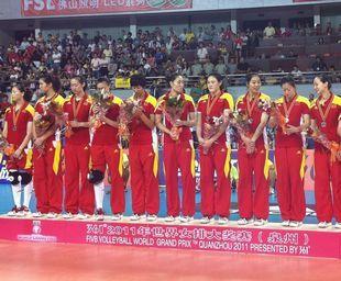大奖赛中国女排0-3俄罗斯2胜1负收获泉州站亚军