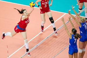 大奖赛中国女排2-3塞尔维亚救3赛点无缘开门红