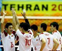 男排亚锦赛中国3-0印度进四强半决赛战澳大利亚