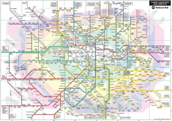 北京手绘旅行线路图