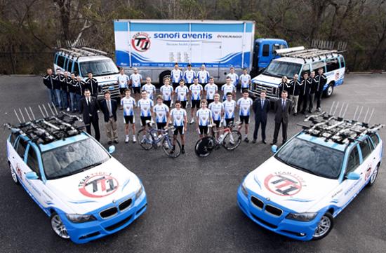 美国TT1洲际职业队