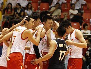 亚洲杯中国男排3-0完胜日本将与卫冕冠军伊朗争冠