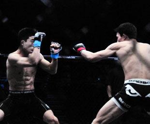 锐武百万争霸诞生5位MMA全国冠军赵子龙王冠封王