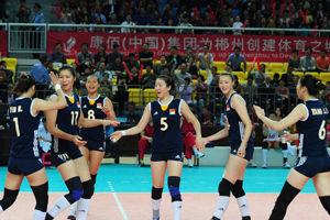 女排世锦赛资格赛中国3-0新西兰25-4创最大分差
