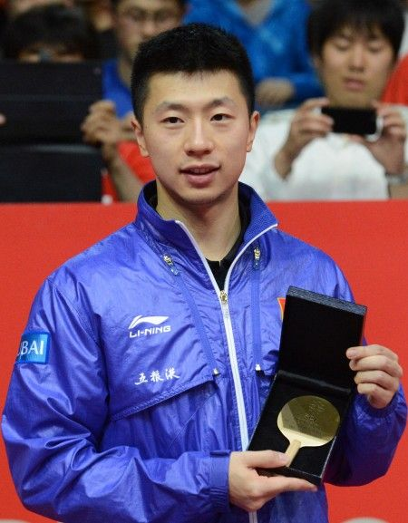 马龙被评为本届赛事最佳运动员。 新华社记者马平摄