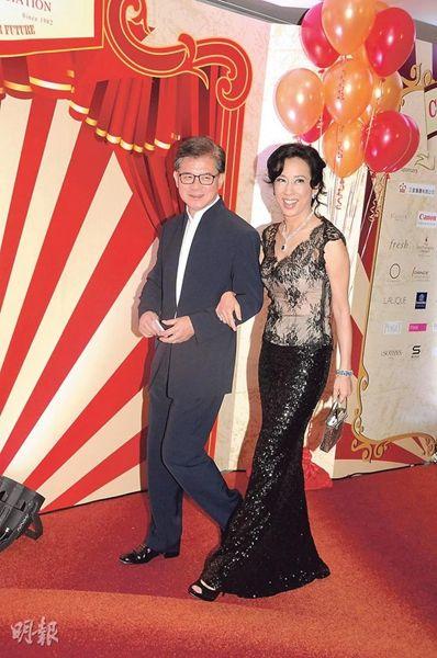 朱玲玲和现任丈夫罗康瑞