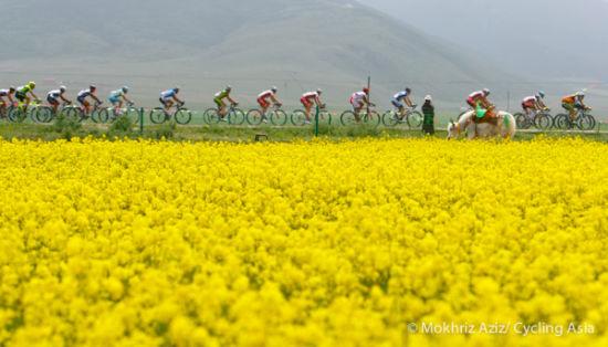 美丽的赛道骑行