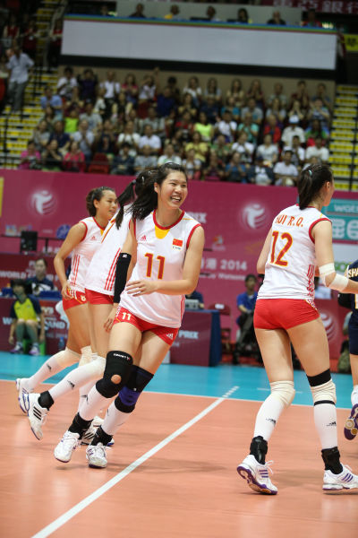 中国女排晋级形势乐观