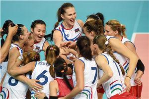 女排世锦赛阿塞拜疆第二胜A组意大利多米尼加不败