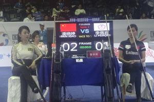 九球世锦赛首日中国双姝告捷潘晓婷盼迎生涯高峰