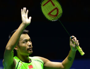 中羽赛-林丹昂首晋级决赛中国提前锁定一冠