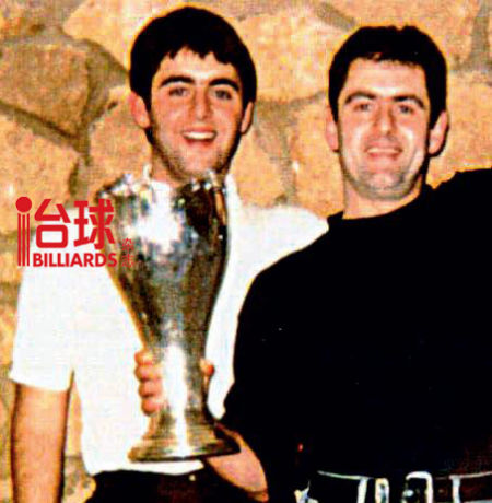 奥沙利文首夺英锦赛冠军和老父亲