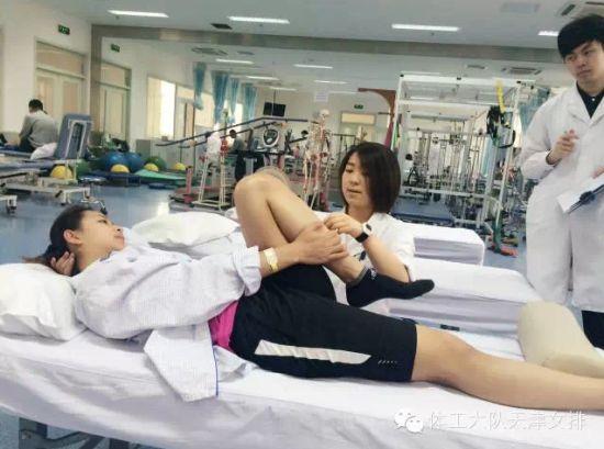王茜在医院做术前检查