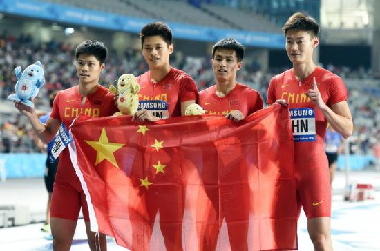 仁川亚运会上国家队破记录夺冠