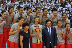 亚锦赛女排3-0韩国时隔4年重夺冠军第13次登顶