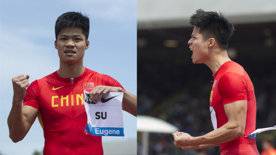 苏炳添百米大战9秒99成亚洲第一人